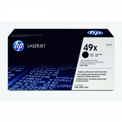 HP kassett No.49X Must (Q5949X)