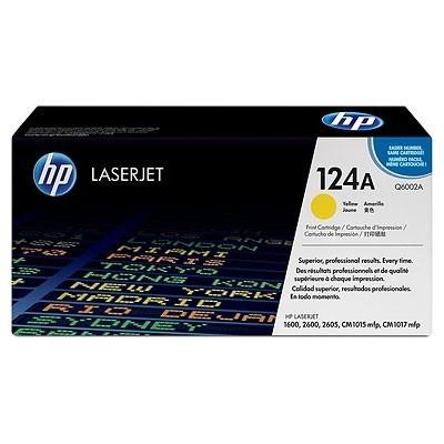 HP kassett No.124A Kollane (Q6002A)