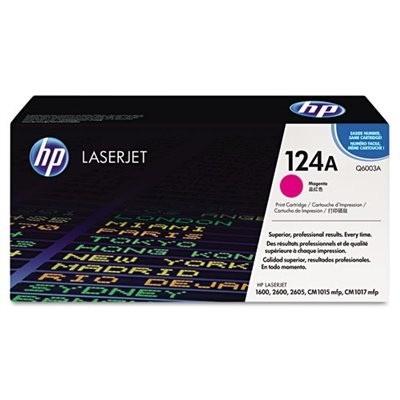 HP kassett No.124A Roosa (Q6003A)
