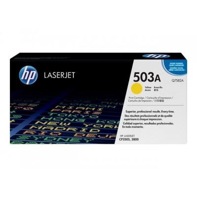 HP kassett No.503A Kollane (Q7582A) EOL