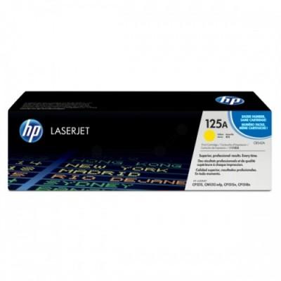 HP kassett No.125A Kollane (CB542A)