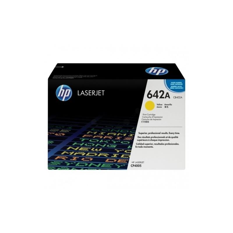 HP kassett No.642A Kollane (CB402A) EOL