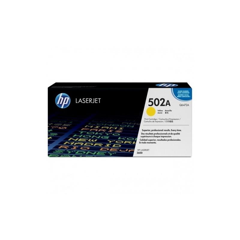 HP kassett No.502A Kollane (Q6472A) EOL