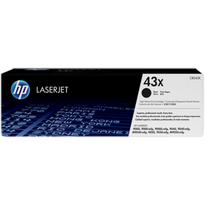 HP kassett No.43X Must (C8543X)