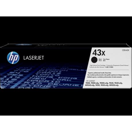 HP kassett No.43X Must (C8543X)