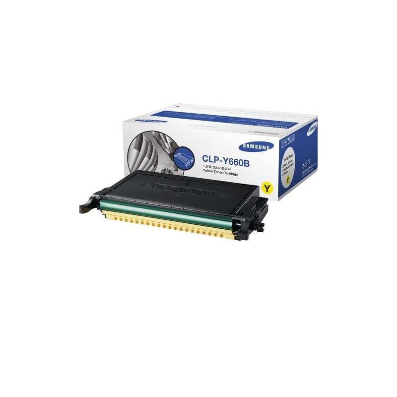 HP kassett Kollane CLP-Y660B/ELS (ST959A)