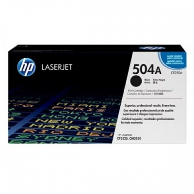 HP kassett No.504A Must (CE250A)