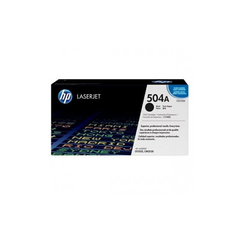 HP kassett No.504A Must (CE250A)