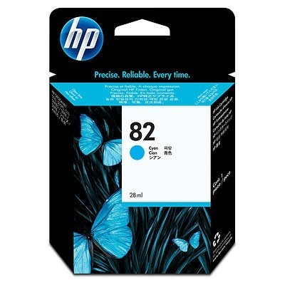 HP Ink No.82 Sinine (C4911A)