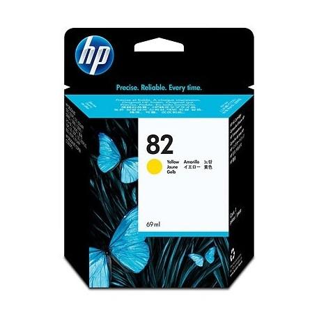 HP Ink No.82 Kollane (C4913A)