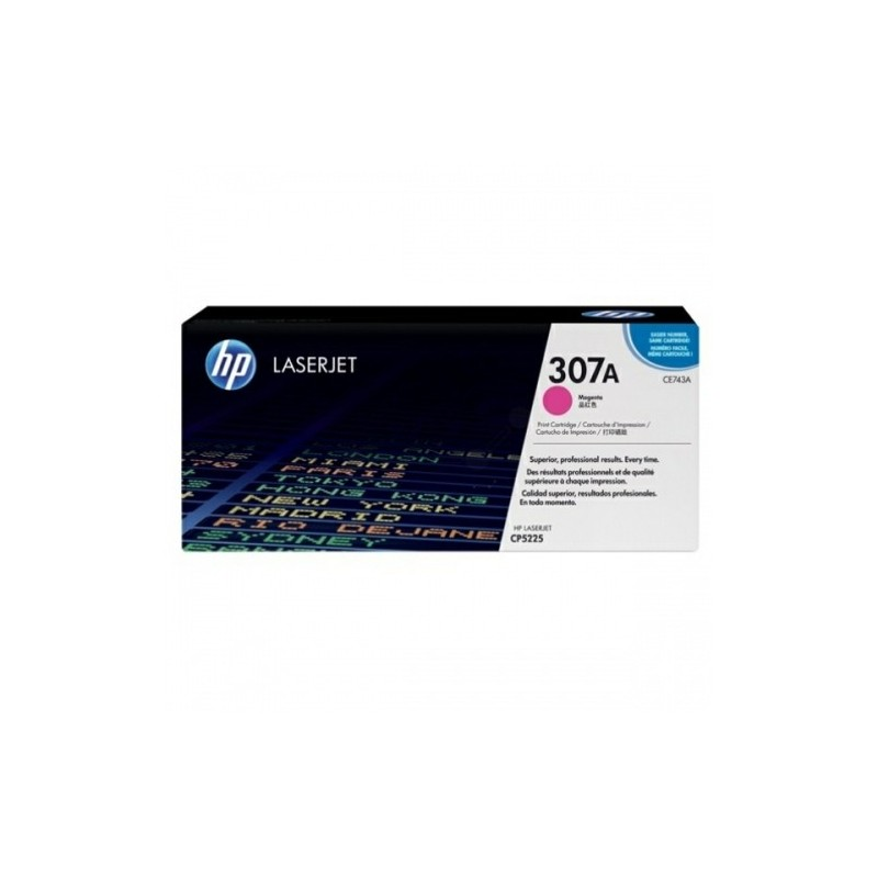 HP kassett No.307A Roosa (CE743A)