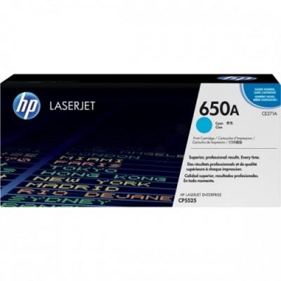 HP kassett No.650A Sinine (CE271A)