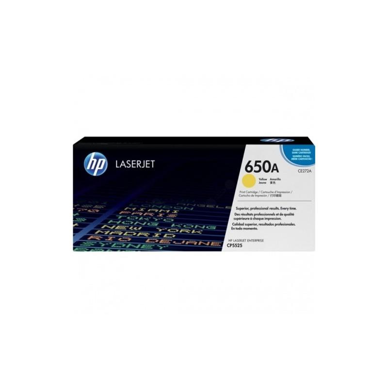 HP kassett No.650A Kollane (CE272A)