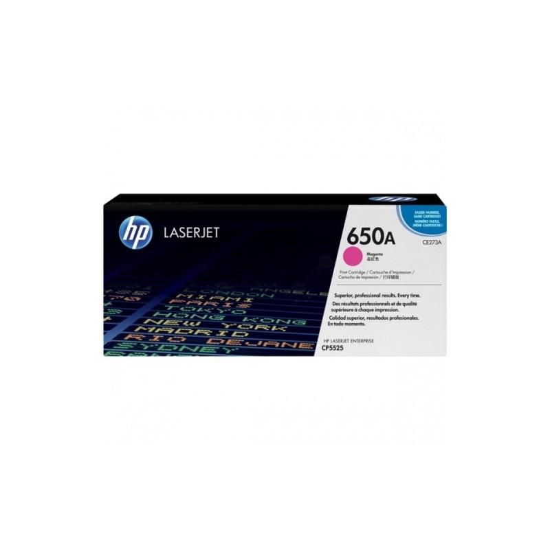 HP kassett No.650A Roosa (CE273A)