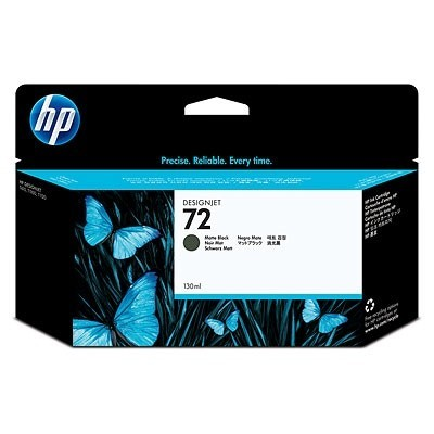 HP Ink No.72 Matte-Must (C9403A)