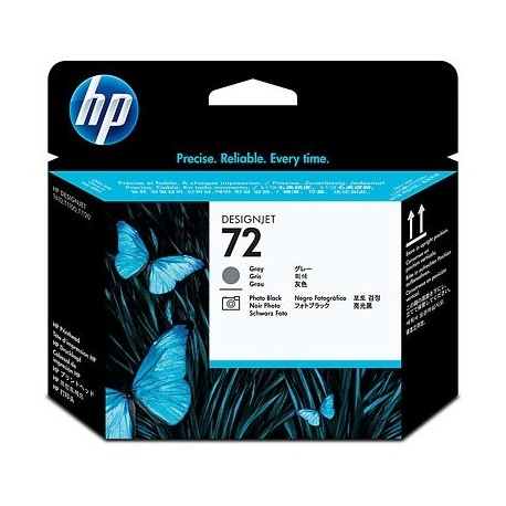HP Ink No.72 Gray and Photo Must Printhead (C9380A)
