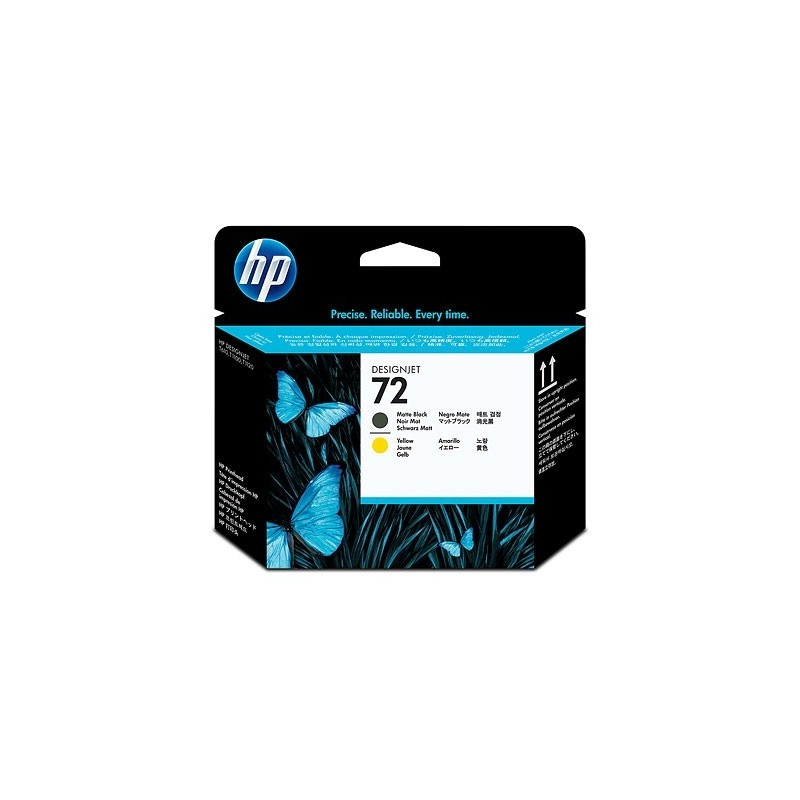 HP Ink No.72 Matt black/Kollane (C9384A)