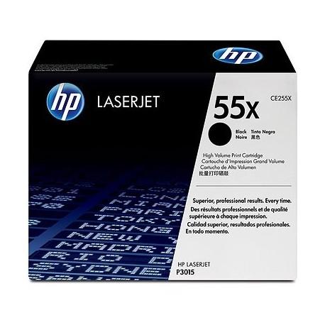 HP kassett No.55X Must (CE255X)