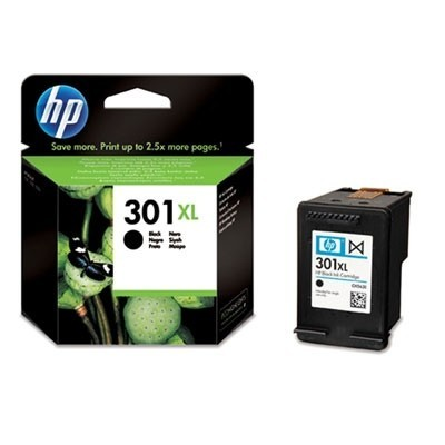 HP Ink No.301 XL Must (CH563EE)