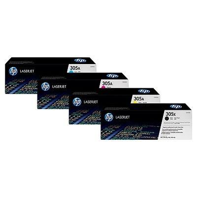 HP kassett No.305X Must (CE410X)