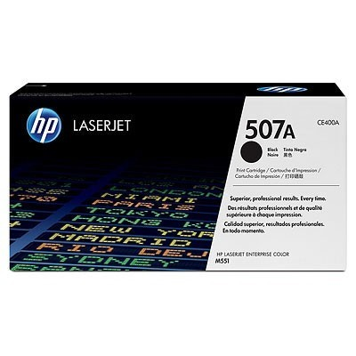 HP kassett No.507A Must (CE400A)