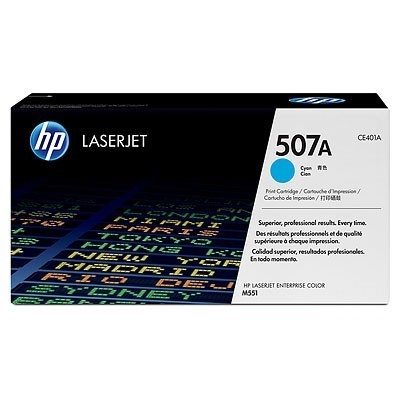 HP kassett No.507A Sinine (CE401A)