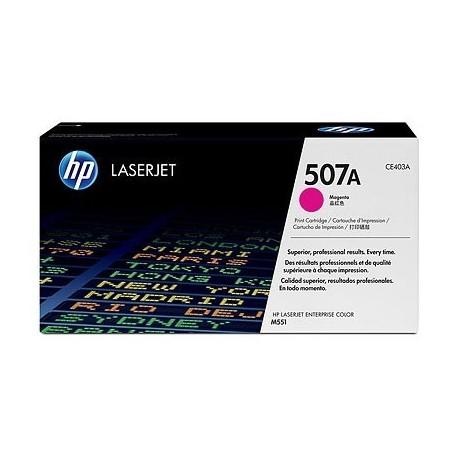 HP kassett No.507A Roosa (CE403A)