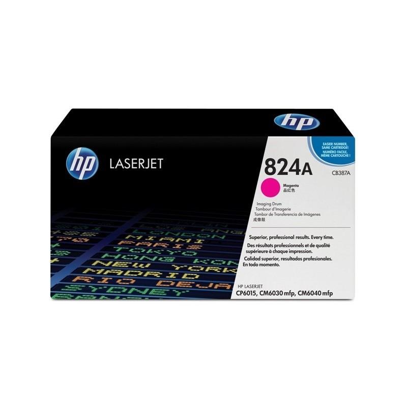 HP Trummel No.824A Roosa Image Unit (CB387A)