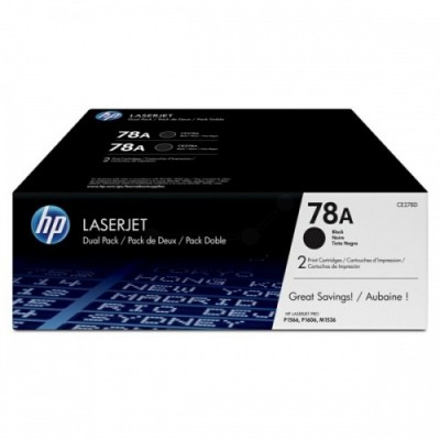 HP CE278AD No.78A Dual Pack Must kassett (CE278AD)
