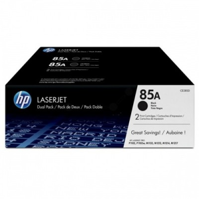 HP CE285AD No.85A Dual Pack Must kassett (CE285AD)