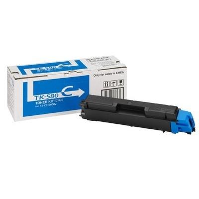 Kyocera tooner TK-580 Sinine (1T02KTCNL0)