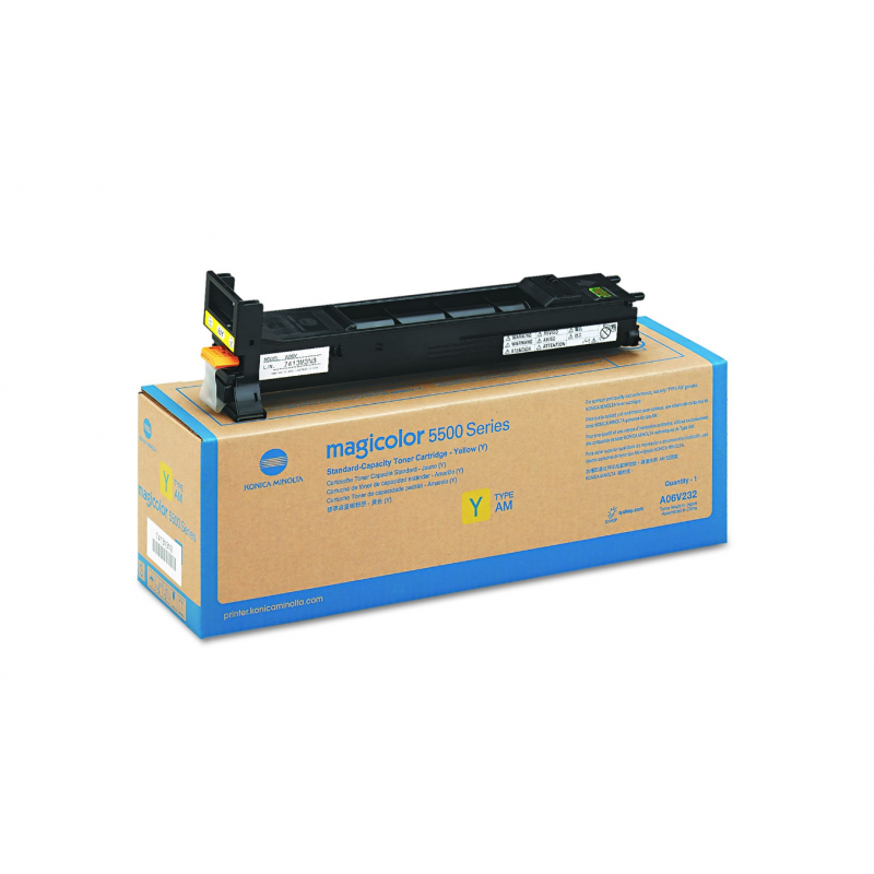 Konica-Minolta kassett MC5550 Kollane 12k HC (A06V253)