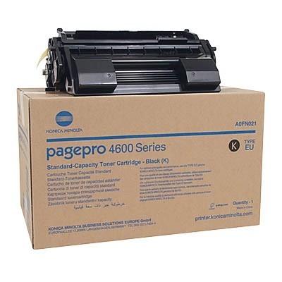 Konica-Minolta kassett PP4650 Must 10k (A0FN021)