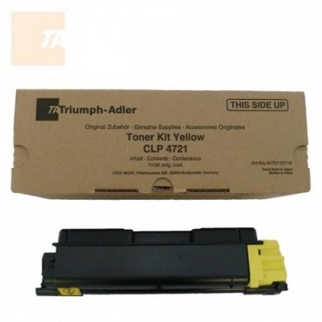 Triumph Adler tooner Kit CLP 4721 2,8k/ Utax tooner CLP 3721 Kollane (