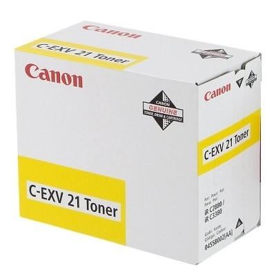 Canon tooner C-EXV 21 Kollane (0455B002)