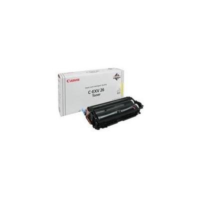 Canon tooner C-EXV 26 Kollane (1657B006 / 1657B011)