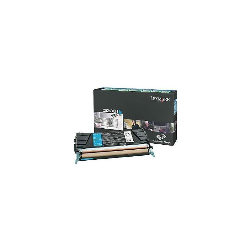 Lexmark kassett Sinine 5k (C5240CH)