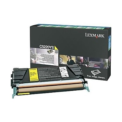 Lexmark kassett Kollane (C5220YS) Return