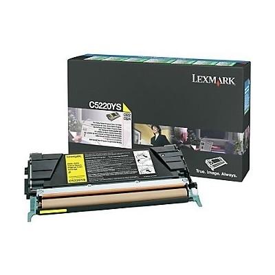 Lexmark kassett Kollane (C5220YS) Return