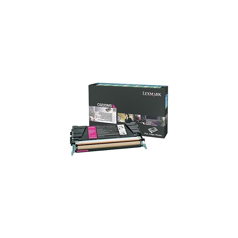 Lexmark kassett Roosa (C5220MS) Return