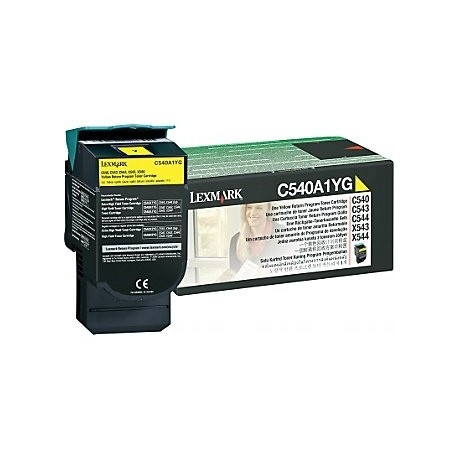 Lexmark kassett Kollane (C540A1YG) Return
