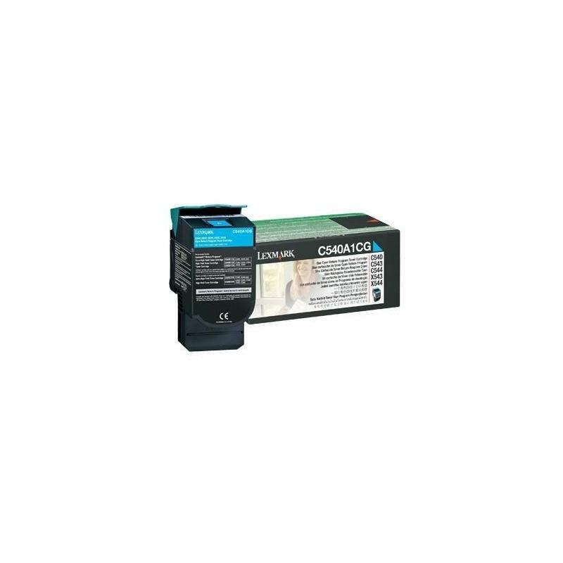 Lexmark kassett Sinine (C540A1CG) Return