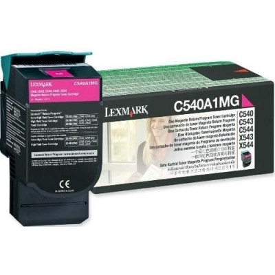 Lexmark kassett Roosa (C540A1MG) Return