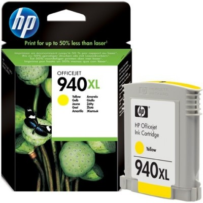 HP Ink No.940 XL Kollane (C4909AE)