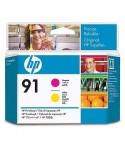 HP Printhead No.91 Roosa / Kollane (C9461A)