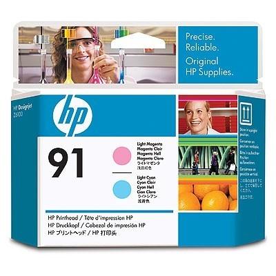 HP Printhead No.91 Light Roosa / Light Sinine (C9462A)