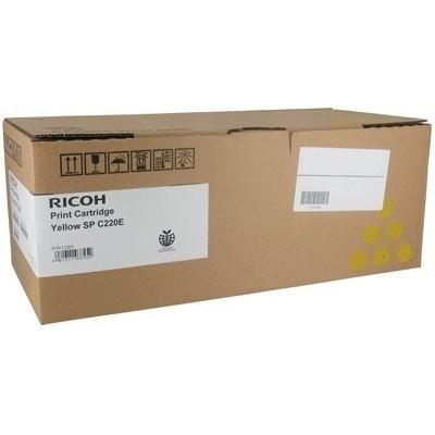 Ricoh kassett Type SP C220E Kollane (407643) 2k (406106) (406055) (406768)