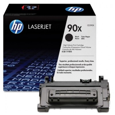 HP kassett No.90X Must (CE390X)