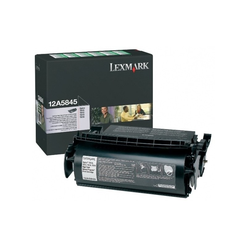 Lexmark kassett Must (12A5845) Return