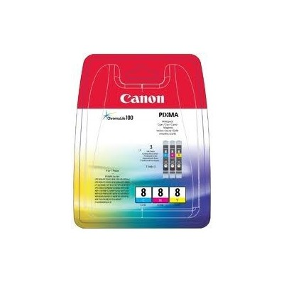 Canon Ink CLI-8 Multipack (0621B029) Blister ohne Alarm